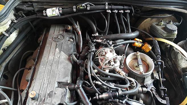 Image No4 for Mercedes 190E k-jetronic