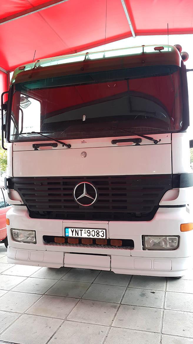 Mercedes Actros v6 - CNG  Image