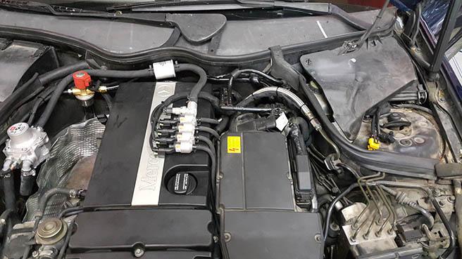 Image No3 for Mercedes C180K
