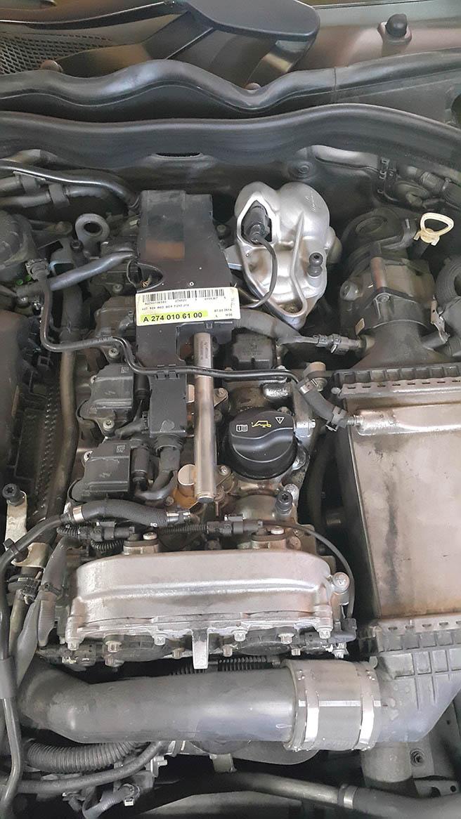 Image No4 for Mercedes E 180k  – CNG