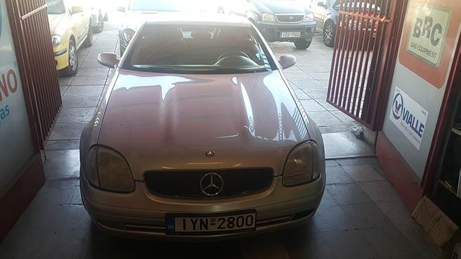 Mercedes SLK 200 BRC  Image