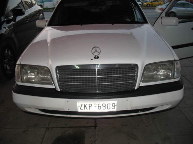 Archive image for MERCEDES C180