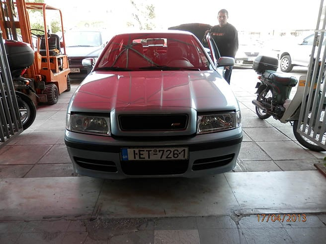 SKODA Octavia 1.8T 20V 210hp  Image