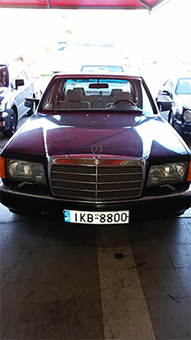 Mercedes SEL 500 R6 ka-jetronik  Image