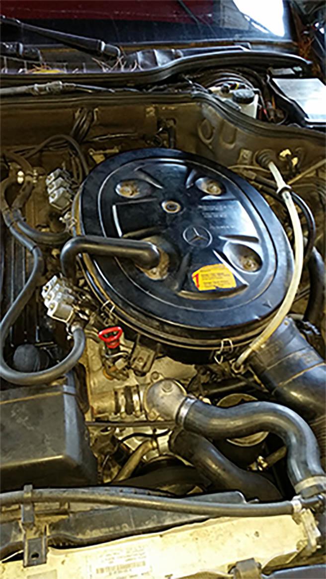 Image No2 for Mercedes SEL 500 R6 ka-jetronik