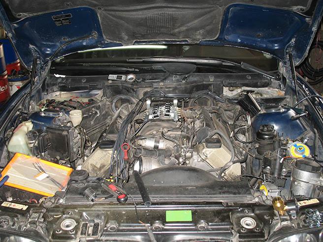 Image No6 for BMV 544 V8 350 kw